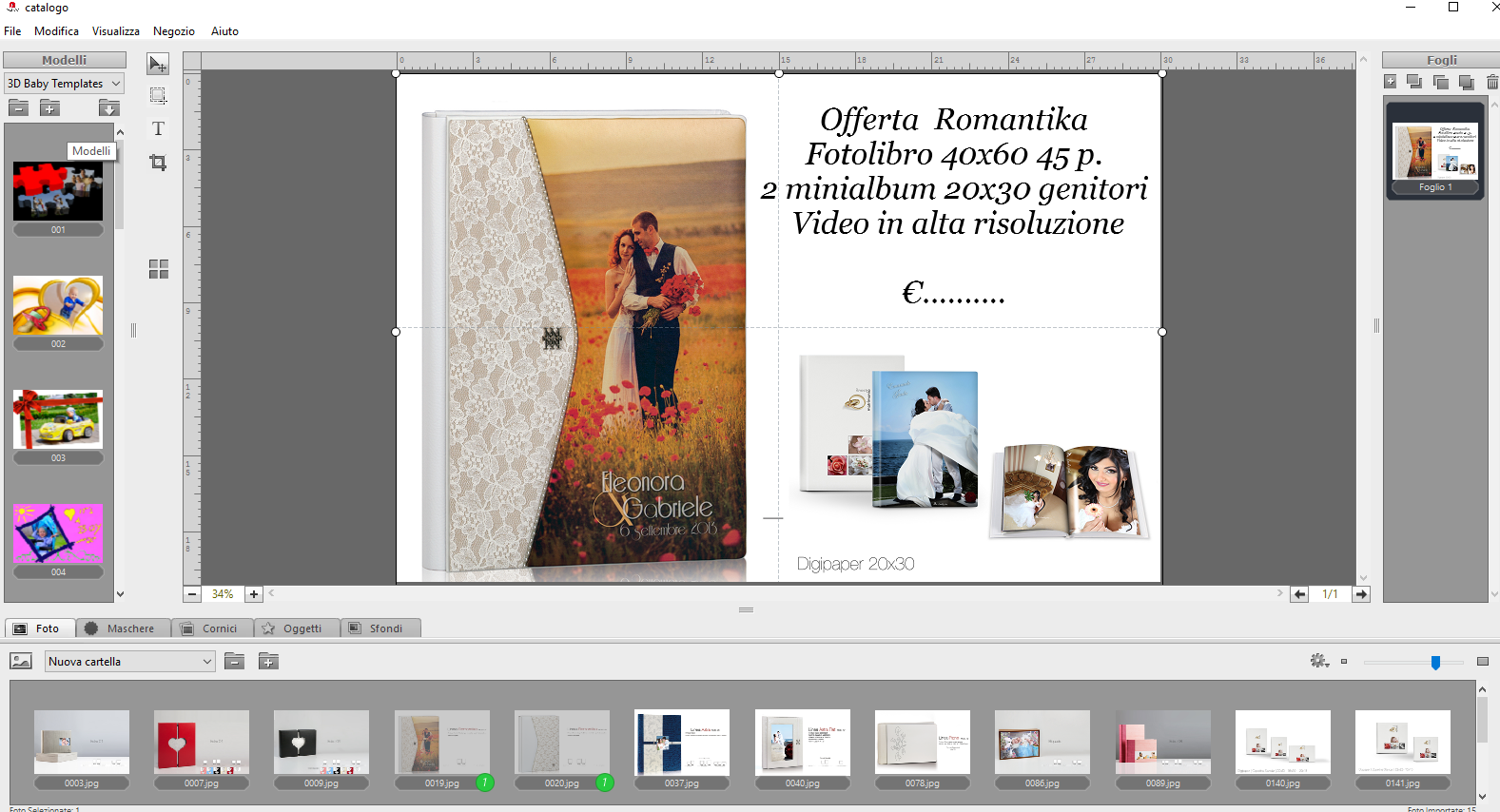 Crea Catalogo - Step 2